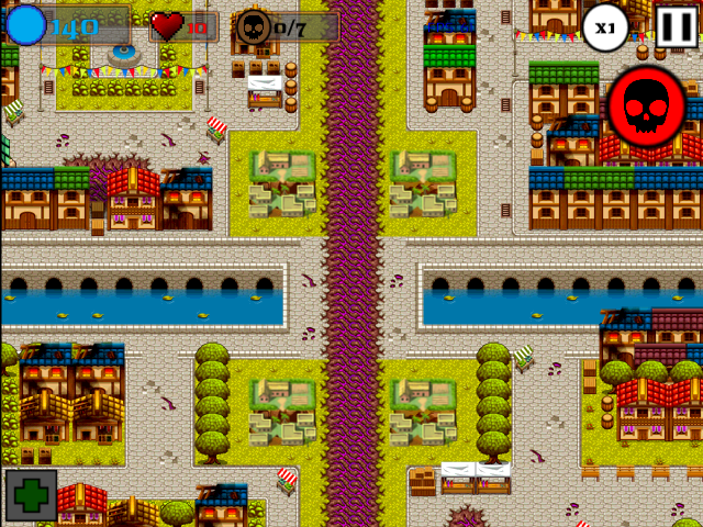 Look! It's a town!
